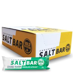 Endurance Salt Bar Chocolate e Amendoim - Cx. 15 unid.
