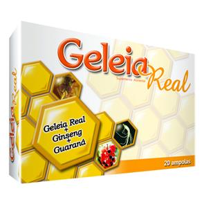 Geleia Real + Ginseng + Guaraná