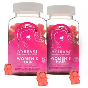 Pack 2 Ivy Bears Hair Vitamins for Women 150g