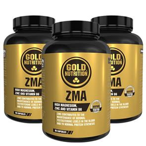 Pack 3 ZMA GoldNutrition