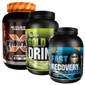 Pack Atletismo GoldNutrition