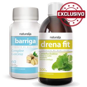Pack Barriga + Drena Fit Naturalia