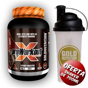 Pre-Workout Extreme Force GoldNutrition
