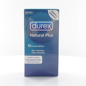 Preservativo Durex Natural Plus