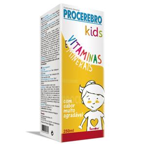 Procerebro Mini Vitaminas e Minerais - 250ml