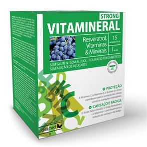 Vitamineral Strong - 15 ampolas - DietMed