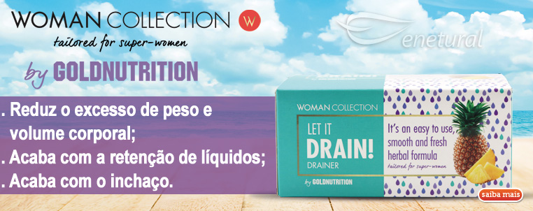 Let it Drain Woman Collection